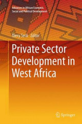 Omslag - Private Sector Development in West Africa