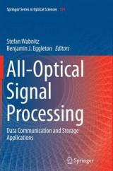 Omslag - All-Optical Signal Processing