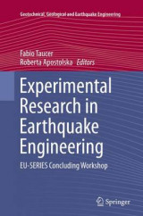 Omslag - Experimental Research in Earthquake Engineering