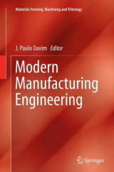 Omslag - Modern Manufacturing Engineering