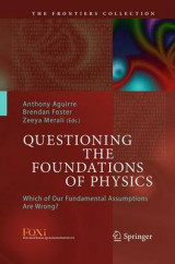 Omslag - Questioning the Foundations of Physics