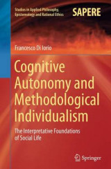 Omslag - Cognitive Autonomy and Methodological Individualism