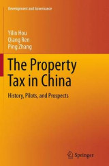 Omslag - The Property Tax in China