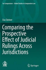 Omslag - Comparing the Prospective Effect of Judicial Rulings Across Jurisdictions