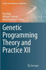 Omslag - Genetic Programming Theory and Practice XII