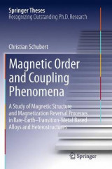 Omslag - Magnetic Order and Coupling Phenomena
