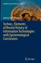 Omslag - Technen: Elements of Recent History of Information Technologies with Epistemological Conclusions