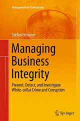 Omslag - Managing Business Integrity