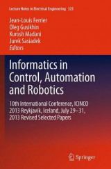 Omslag - Informatics in Control, Automation and Robotics