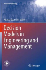 Omslag - Decision Models in Engineering and Management