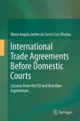 Omslag - International Trade Agreements Before Domestic Courts