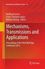 Omslag - Mechanisms, Transmissions and Applications