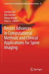 Omslag - Recent Advances in Computational Methods and Clinical Applications for Spine Imaging