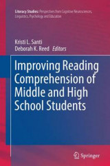 Omslag - Improving Reading Comprehension of Middle and High School Students