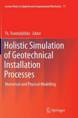 Omslag - Holistic Simulation of Geotechnical Installation Processes