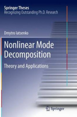 Omslag - Nonlinear Mode Decomposition