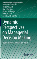 Omslag - Dynamic Perspectives on Managerial Decision Making 2016