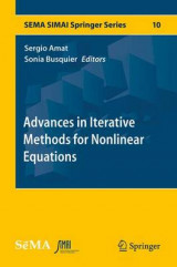 Omslag - Advances in Iterative Methods for Nonlinear Equations 2017