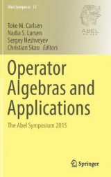 Omslag - Operator Algebras and Applications 2016