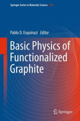 Omslag - Basic Physics of Functionalized Graphite 2016