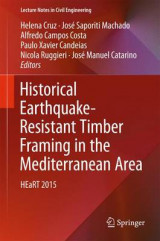 Omslag - Historical Earthquake-Resistant Timber Framing in the Mediterranean Area 2016