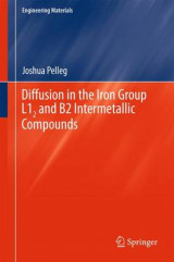 Omslag - Diffusion in the Iron Group L12 and B2 Intermetallic Compounds 2016