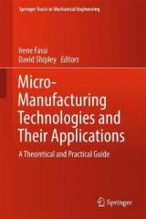 Omslag - Micro-Manufacturing Technologies and Their Applications 2017