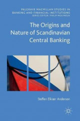 Omslag - The Origins and Nature of Scandinavian Central Banking 2016