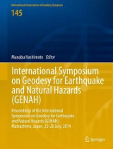 Omslag - International Symposium on Geodesy for Earthquake and Natural Hazards (GENAH) 2016