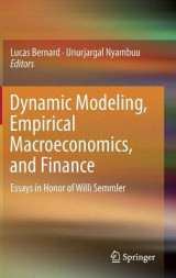 Omslag - Dynamic Modeling, Empirical Macroeconomics, and Finance 2016