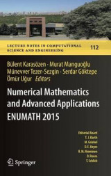 Omslag - Numerical Mathematics and Advanced Applications - ENUMATH 2015 2016