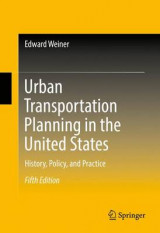 Omslag - Urban Transportation Planning in the United States 2016