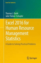 Omslag - Excel 2016 for Human Resource Management Statistics 2016