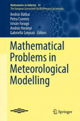 Omslag - Mathematical Problems in Meteorological Modelling 2016