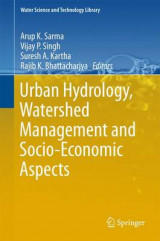 Omslag - Urban Hydrology, Watershed Management and Socio-Economic Aspects 2016