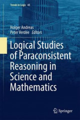 Omslag - Logical Studies of Paraconsistent Reasoning in Science and Mathematics 2017
