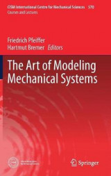 Omslag - The Art of Modeling Mechanical Systems 2016
