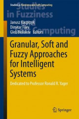 Omslag - Granular, Soft and Fuzzy Approaches for Intelligent Systems 2016