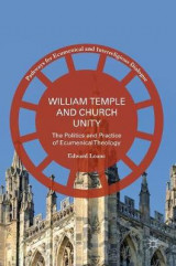 Omslag - William Temple and Church Unity 2017