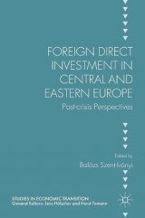 Omslag - Foreign Direct Investment in Central and Eastern Europe 2017