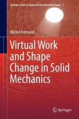 Omslag - Virtual Work and Shape Change in Solid Mechanics 2016