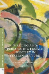 Omslag - Writing and Performing Female Identity in Italian Culture 2017