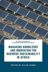 Omslag - Managing Knowledge and Innovation for Business Sustainability in Africa 2017
