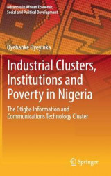 Omslag - Industrial Clusters, Institutions and Poverty in Nigeria 2017