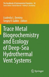 Omslag - Trace Metal Biogeochemistry and Ecology of Deep-Sea Hydrothermal Vent Systems 2016