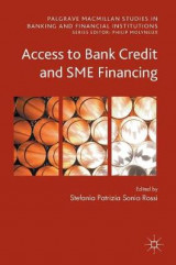 Omslag - Access to Bank Credit and SME Financing 2017