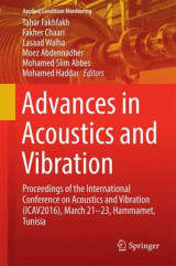 Omslag - Advances in Acoustics and Vibration 2016