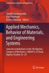 Omslag - Applied Mechanics, Behavior of Materials, and Engineering Systems 2016