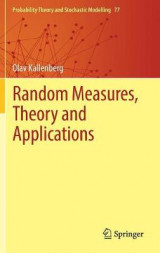 Omslag - Random Measures, Theory and Applications 2017