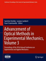 Omslag - Advancement of Optical Methods in Experimental Mechanics 2016: Proceedings of the 2016 Annual Conference on Experimental and Applied Mechanics Volume 3